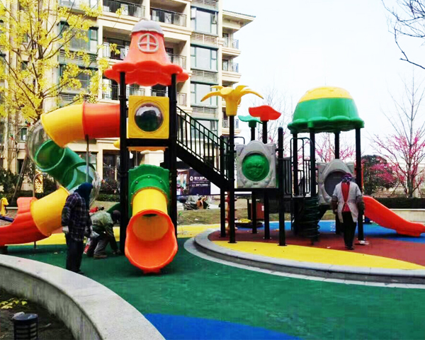 Outdoor Playground For Residential Subdistricts!